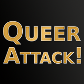 Logo Queerattack!<br>Fasching